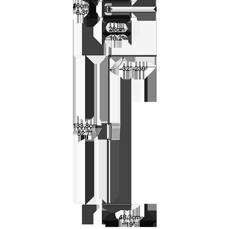 Giant Floor Lamp Dimension