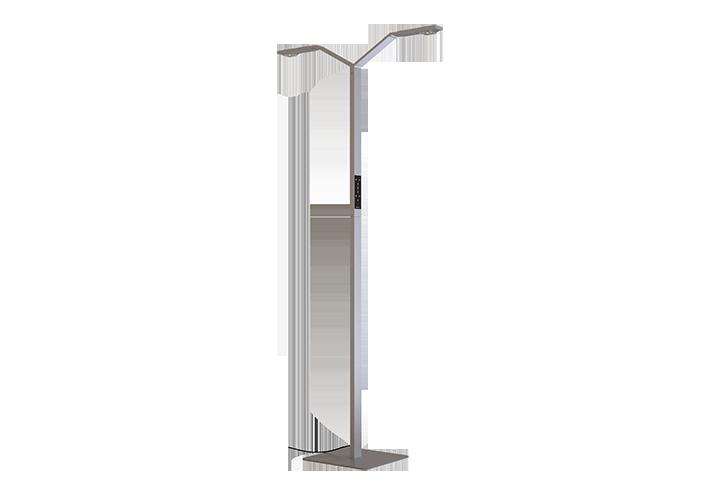 Agility Double Floor Lamp Show