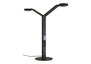 Agility Double Round Table Lamp Show