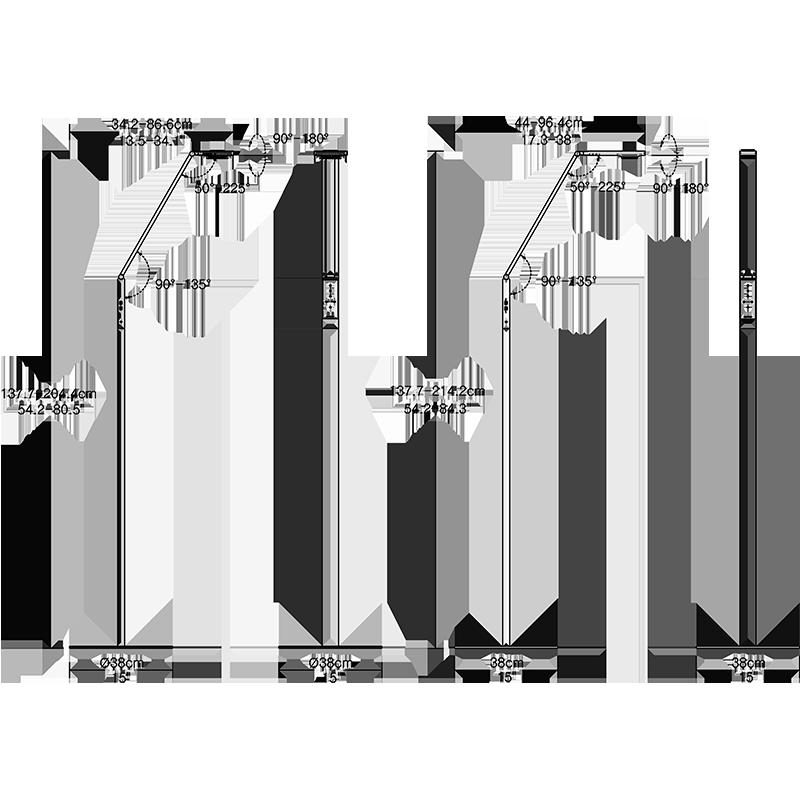 Agility Floor Lamp Dimension