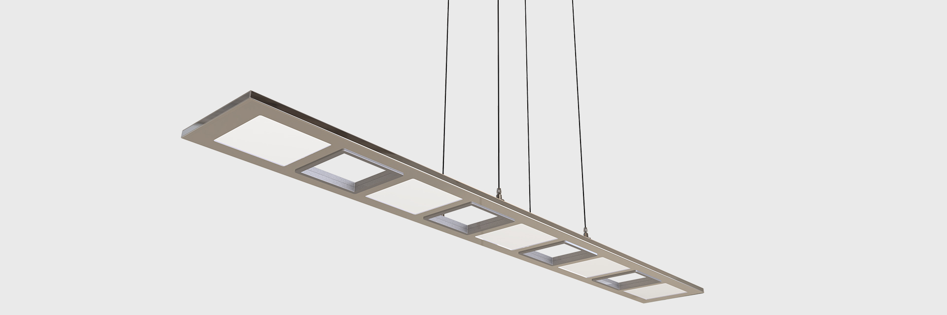 Pendant Lighting Column Led Suspended Series Zentem