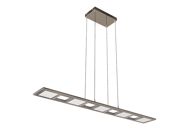 Column Linear Pendant Lighting Show