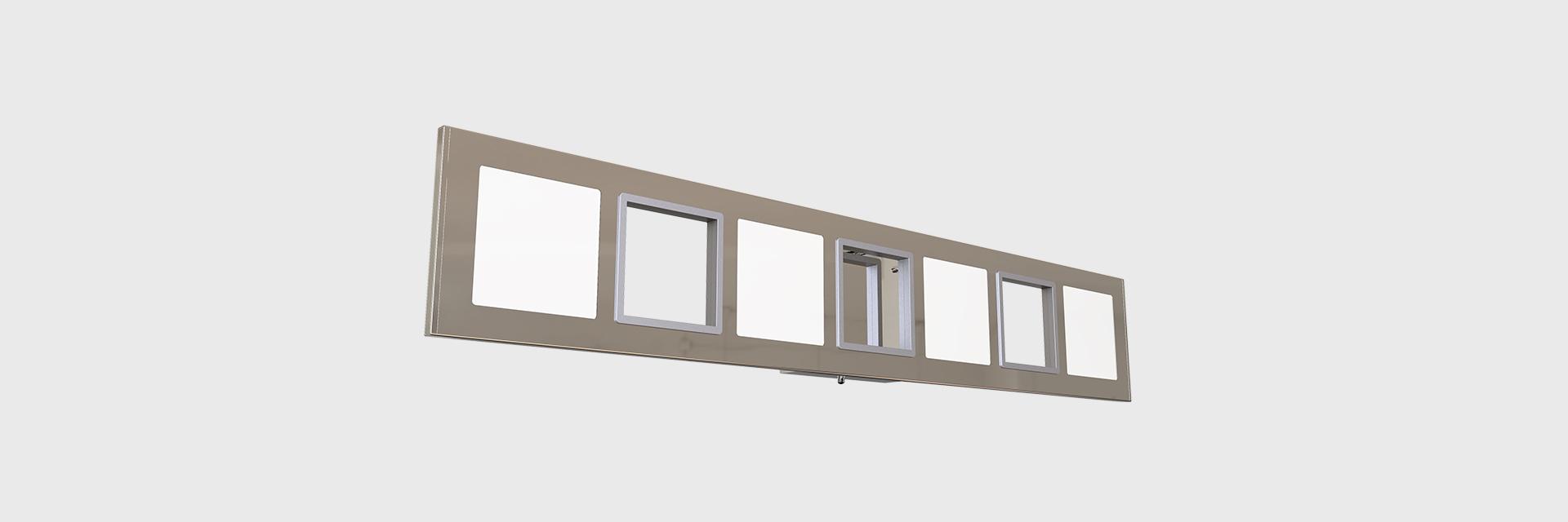 Vanity Light Column Led Wall And Ceiling Lights Series Zentem