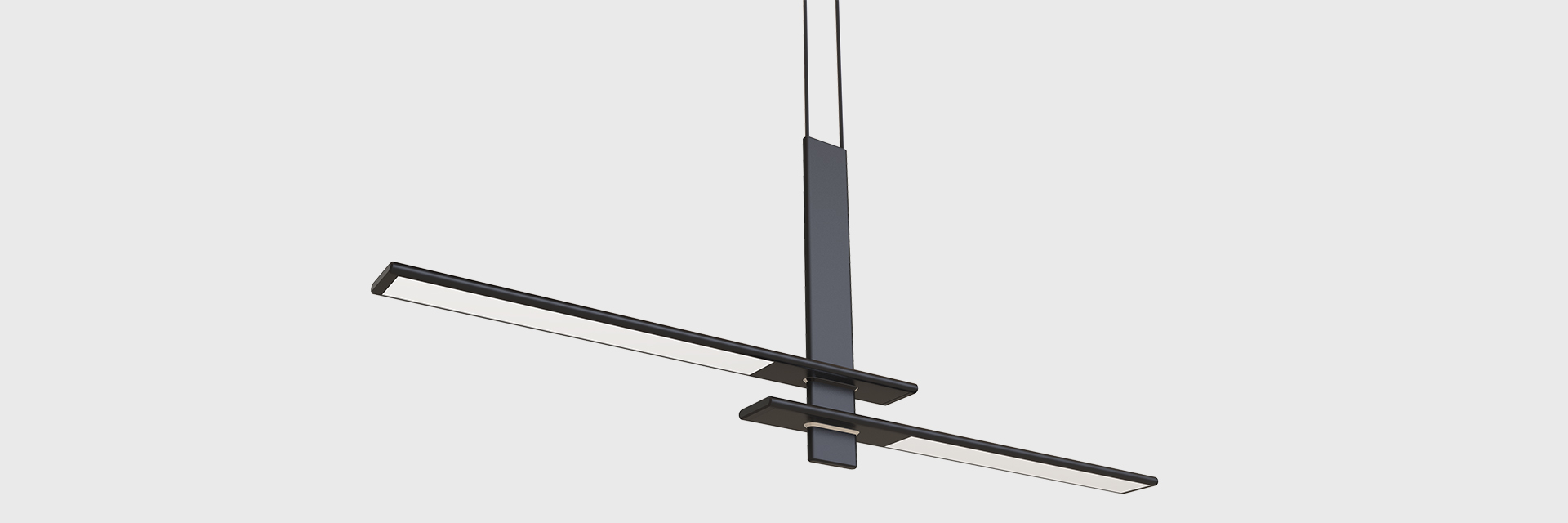 Pendant Lighting Poise Led Step Suspended Series Zentem